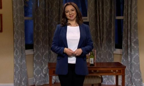'Saturday Night Live': Maya Rudolph'tan Kamala Harris Fısıh'ı kutluyor